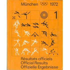 MUNICH 1972 - OFFICIAL RESULTS (2 VOLUMES)