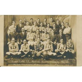 BROOKLYN CELTIC FOOTBALL CLUB (AMERICAN AMATEUR CHAMPIONS) 1911-12 POSTCARD
