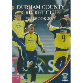 DURHAM COUNTY CRICKET CLUB YEARBOOK 2007