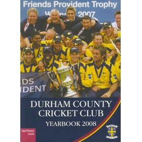 DURHAM COUNTY CRICKET CLUB YEARBOOK 2008