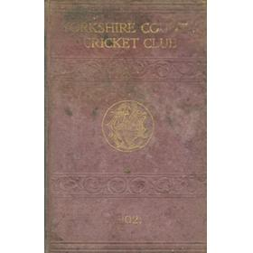 YORKSHIRE COUNTY CRICKET CLUB 1902 [ANNUAL]