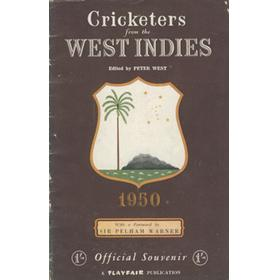 CRICKETERS FROM THE WEST INDIES 1950
