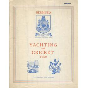 BERMUDA YACHTING AND CRICKET 1960