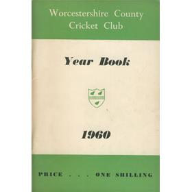 WORCESTERSHIRE COUNTY CRICKET CLUB YEAR BOOK 1960