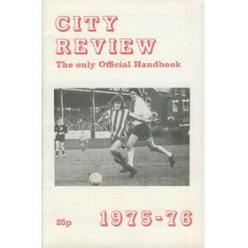 EXETER CITY FOOTBALL CLUB OFFICIAL HANDBOOK 1975-76