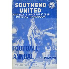 SOUTHEND UNITED FOOTBALL CLUB HANDBOOK 1969-70