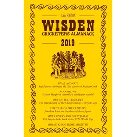 WISDEN TRADITIONAL-STYLE DUST JACKET 2019