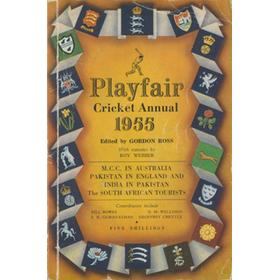 PLAYFAIR CRICKET ANNUAL 1955