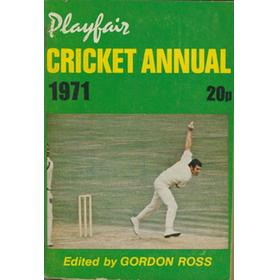 PLAYFAIR CRICKET ANNUAL 1971