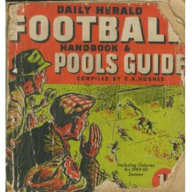 DAILY HERALD FOOTBALL AND POOLS HANDBOOK 1949