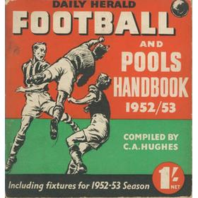 DAILY HERALD FOOTBALL AND POOLS HANDBOOK 1952-53
