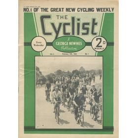 THE CYCLIST (VOLUME 1) 1936 CYCLING MAGAZINE - 7 ISSUES