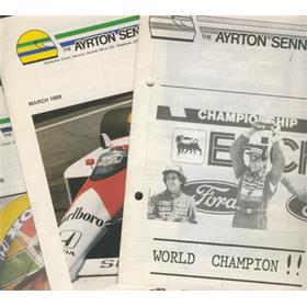 THE AYRTON SENNA FAN CLUB - THE FIRST 3 ISSUES