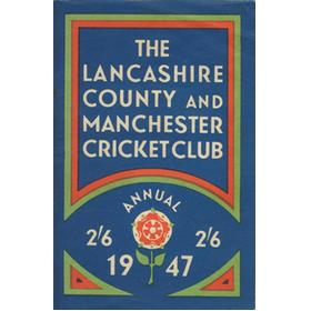 OFFICIAL HANDBOOK OF THE LANCASHIRE COUNTY AND MANCHESTER CRICKET CLUB 1947