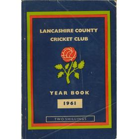 OFFICIAL HANDBOOK OF THE LANCASHIRE COUNTY CRICKET CLUB 1961
