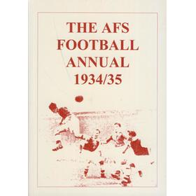 THE AFS FOOTBALL ANNUAL 1934/35