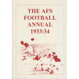THE AFS FOOTBALL ANNUAL 1933/34