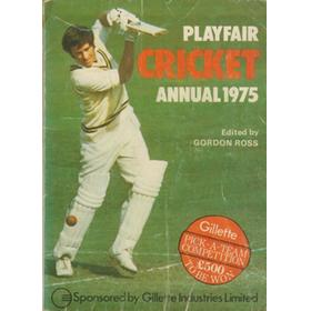 PLAYFAIR CRICKET ANNUAL 1975
