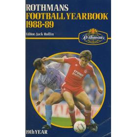 ROTHMANS FOOTBALL YEARBOOK 1988-89