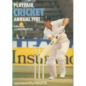 PLAYFAIR CRICKET ANNUAL 1981