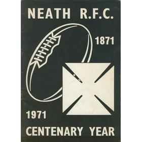 NEATH R.F.C. CENTENARY YEAR 1871-1971