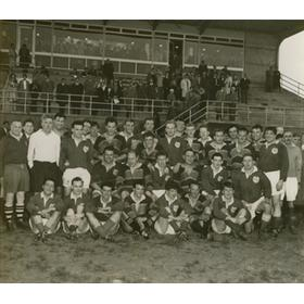 NORTHAMPTON & LONDON IRISH RUGBY CLUBS 1960 PHOTOGRAPH