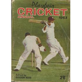PLAYFAIR CRICKET ANNUAL 1963
