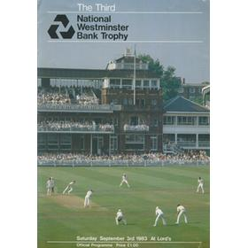 KENT V SOMERSET 1983 (LORD