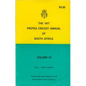 THE 1977 PROTEA CRICKET ANNUAL OF SOUTH AFRICA