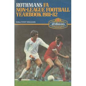 ROTHMANS F.A. NON-LEAGUE FOOTBALL YEARBOOK 1981-82