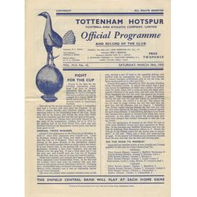 ARSENAL V CHELSEA 1949-50 (FA CUP SEMI-FINAL) FOOTBALL PROGRAMME