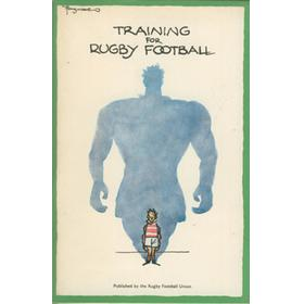 TRAINING FOR RUGBY FOOTBALL