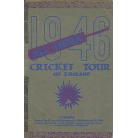 ALL INDIA CRICKET TOUR OF ENGLAND 1946 TOUR BROCHURE