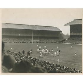 ENGLAND V FRANCE 1965 RUGBY PHOTOGRAPH