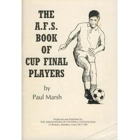THE A.F.S. BOOK OF CUP FINAL PLAYERS