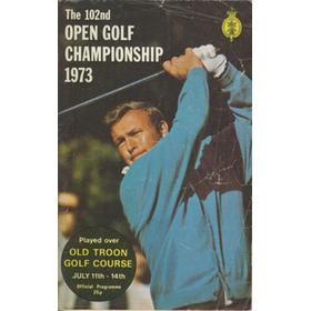 OPEN CHAMPIONSHIP 1973 (OLD TROON) GOLF PROGRAMME