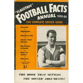 FLAGSTAFF BOOK OF FOOTBALL FACTS 1959-60: THE COMPLETE SOCCER GUIDE