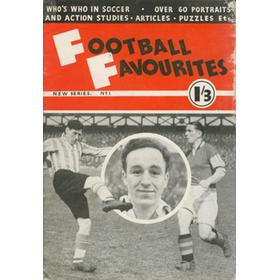 FOOTBALL FAVOURITES - NEW SERIES No.1