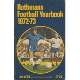ROTHMANS FOOTBALL YEARBOOK 1972-73