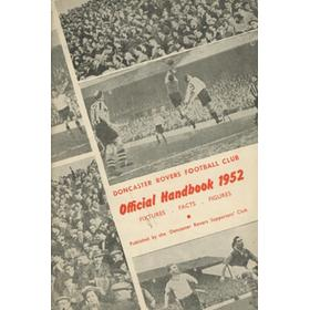 DONCASTER ROVERS OFFICIAL HANDBOOK 1952