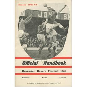 DONCASTER ROVERS OFFICIAL HANDBOOK 1962-63