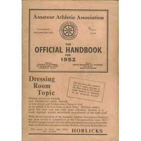 AMATEUR ATHLETIC ASSOCIATION HANDBOOK 1952