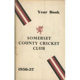 SOMERSET COUNTY CRICKET CLUB YEARBOOK 1956-57
