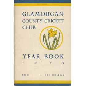 GLAMORGAN COUNTY CRICKET CLUB YEAR BOOK 1953