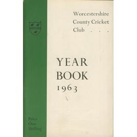 WORCESTERSHIRE COUNTY CRICKET CLUB YEAR BOOK 1963