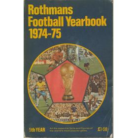 ROTHMANS FOOTBALL YEARBOOK 1974-75