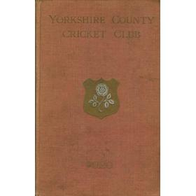 YORKSHIRE COUNTY CRICKET CLUB 1920 [ANNUAL]