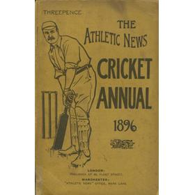ATHLETIC NEWS CRICKET ANNUAL 1896