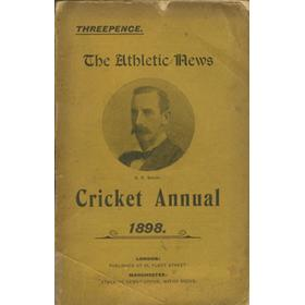 ATHLETIC NEWS CRICKET ANNUAL 1898