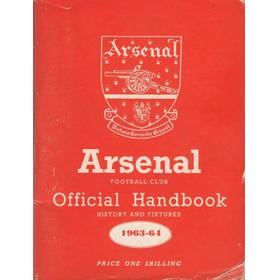 ARSENAL FOOTBALL CLUB 1963-64 OFFICIAL HANDBOOK